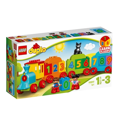 10847 LEGO Duplo My First Tog med tal