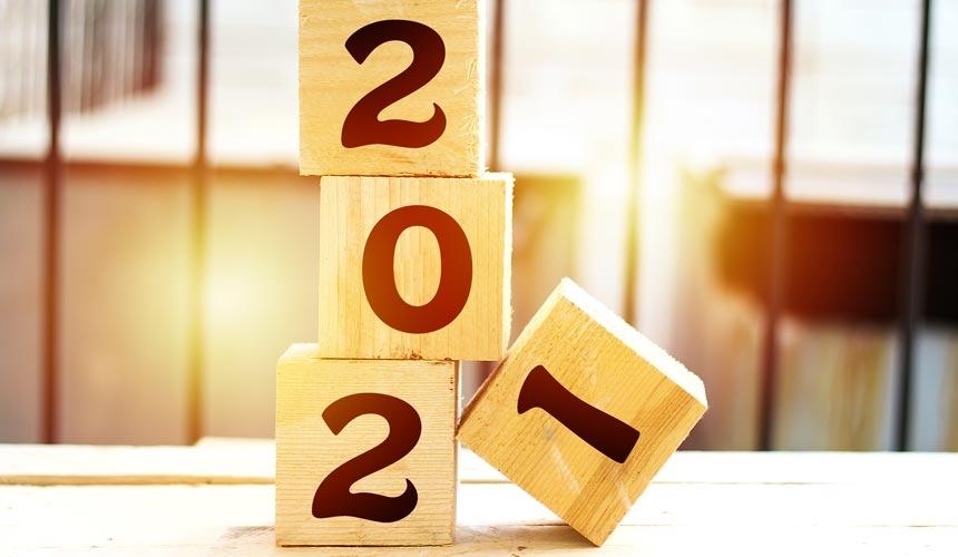 Kalender 2021 Bog & idé