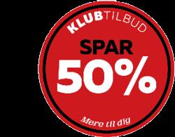 KLUBTILBUD50PROCENT