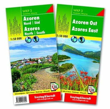 Azores Hiking Map