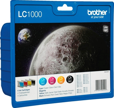 Blæk Brother Lc-1000 Value Pack