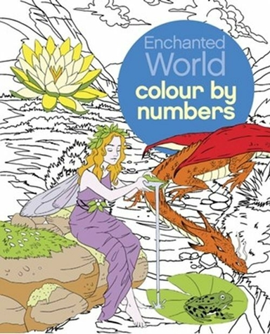 Colour by Numbers: Enchanted World