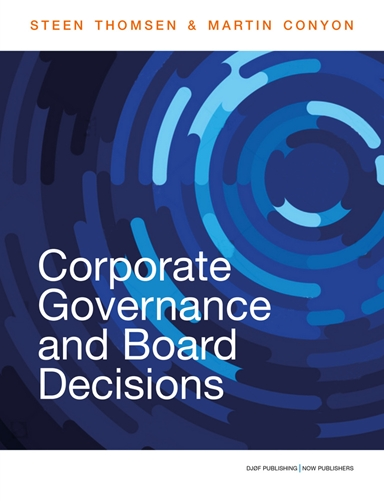 Corporate Governance and Board Decisions