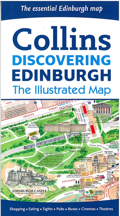 Discovering Edinburgh: The Illustrated Map
