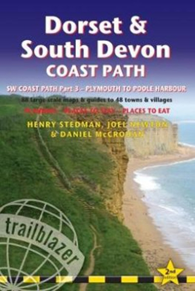 Dorset & South Devon Coast Path: Plymouth to Poole Harbour :  88 Large-Scale Maps & Guides to 48 Towns & Villages