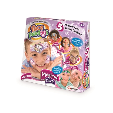 FACE PAINT TATTOO MAGICAL PACK