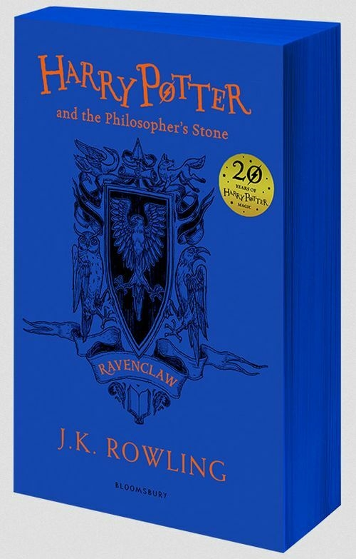 Harry Potter and the Philosopher´s Stone - Ravenclaw Edition (PB, blue)