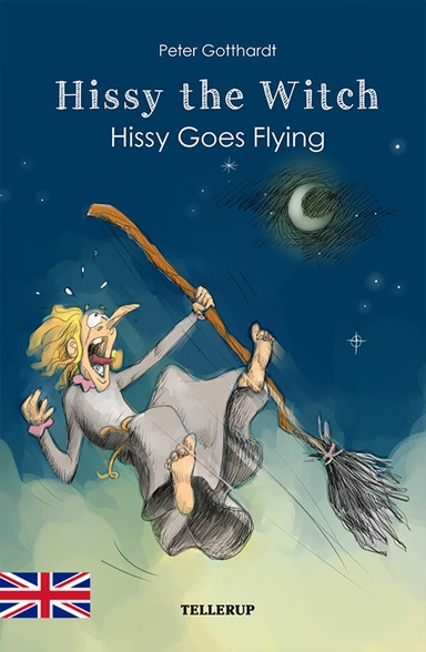 Hissy the witch - Hissy goes flying