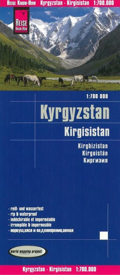 Kirgisistan - Kyrgyzstan, World Mapping Project