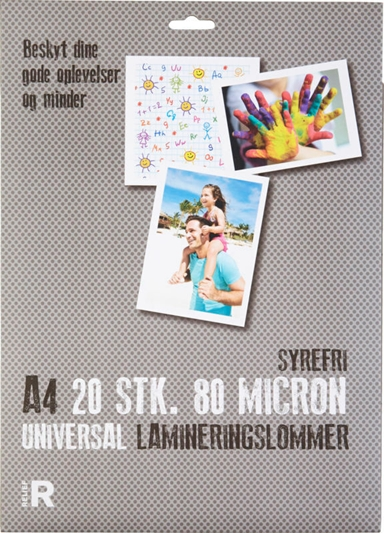 LAMINERINGSLOMME RELIEF A4 80MIC
