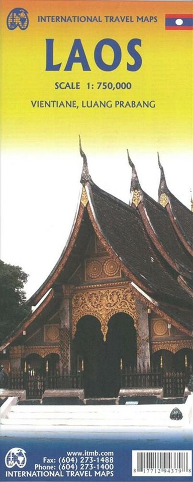 Laos Travel Reference Map
