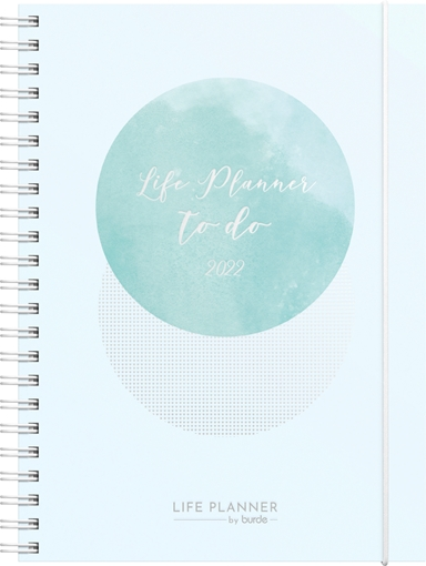 Life planner A5 week blue 2022 Mayland