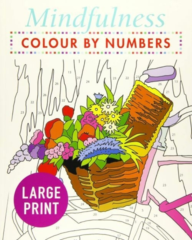 Mindfulness Colour-by-Numbers