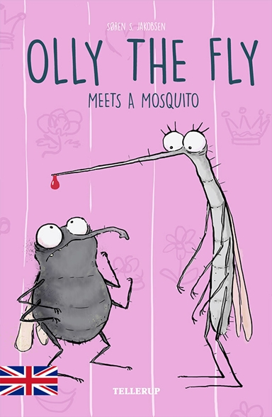 Olly the fly meets a mosquito