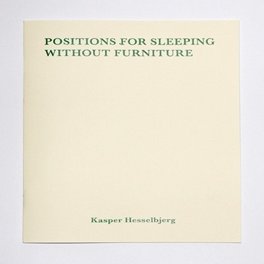 Positions for sleeping without furniture