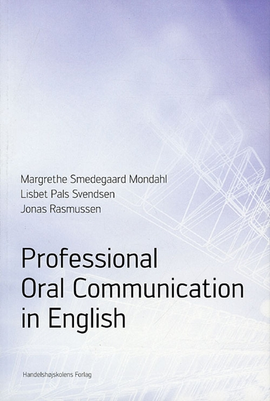 Professional oral communication in English