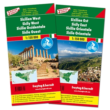 Sicily Road & Cycle Route Set