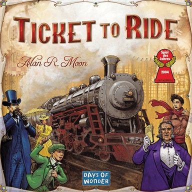 Spil Ticket To Ride Usa