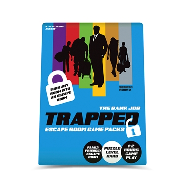 Trapped The Bank Escape Room Game Pack