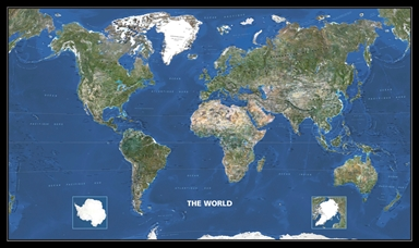 World seen from Space